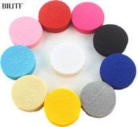 BIUTF 200 PCS 4. 5CM 4CM 3. 5CM Eco- friendly Round Felt Fabric...