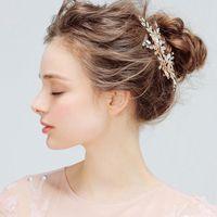 نماذج الانفجار الأوروبي الجديد حجر الراين دبوس الشعر / لوحة غطاء الرأس / مقطع الشعر مجوهرات الزفاف / أكثر من نمط في متجر للاختيار