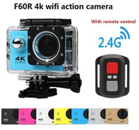 4k wifi action camera go waterproof pro sport camera F60 F60...