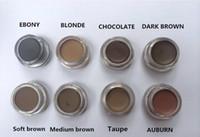 DHL Spedizione gratuita Nuovo Pomata Hot Pomata Medio Marrone Trucco Impermeabile Sopracciglio 4G Bionda / Cioccolato / Marrone scuro / Ebano / Auburn / Medium Brown / Talpe / Soft