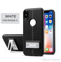 Kickstand Case Magnetic TPU Back Cover For iPhone X 8 7 6 6S...
