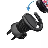 자동차 에어 벤트 벽 사무실 DHL 자유로운을위한 범용 전화 마운트 클립 걸쇠 홀더 접착 휴대 전화 후크