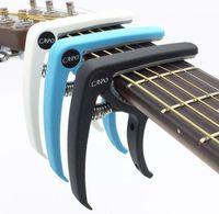 Chitarra plastica Capo per 6 Corde Chitarra classica acustica classica Tuning Clamp Accessori per strumenti musicali Spedizione gratuita