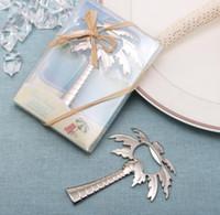 """""""Palm Breeze"""" ouvre-bouteille de bière Chrome Palm Tree cadeau de faveur de mariage nuptiale SN348"""