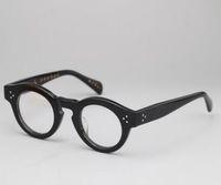 Retro tjocka glasögon lådor japanska myopiamar ramar traditionella tjocka glasögon ramar kvinnors hipster glasögon ramar