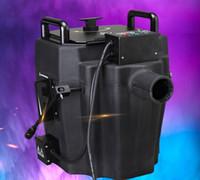3500W Dry ICE Smoke Machine Bassa Macchina per fendinebbia a terra Effetto fase Macchina per feste Mini Acqua nebbia Ambientazione esterna Ghiaccio effetto ghiaccio LLFA