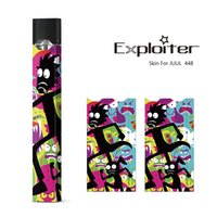 JUUL Sticker Colorful Design Wraps for JUUL Kit Customized P...