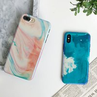 Painting style Phone Case Soft TPU Cover for Iphone 6 6s 6 p...