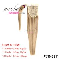 MRSHAIR Brazilian hair Ponytail Human Hair Ponytails Piano P...