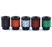 New Arrival Carbon Fiber TFV8 Drip Tips Flat wide bore 810 D...