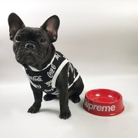 Newest Summer T- Shirts For Dogs Teddy Puppy Apparel Dogs Pri...
