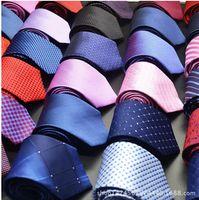 Männer Krawatten Neue Marke Mann Mode Dot Gestreifte Krawatten Hombre 8 cm Gravata Wide Tie Classic Business Casual Green Tie für Männer MOQ 20 STÜCKE