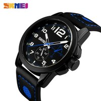 New Watches Mens Fashion Casual Leather Waterproof Wristwatc...