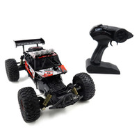 Flytec 1/18 4WD 2.4 GHz 16 km / h Suspensión Independiente Primavera RC Off Road Car Speed ​​Coche Regalo de juguete Control remoto Buggy