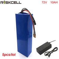 5 teile / los DIY 72 volt 1500 watt li-ion akku 72 v 10ah lithium-ionen akku mit BMS und ladegerät