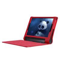 Custodia in pelle per Lenovo YOGA Tab 10.1 3 YT3-X50M Case Cover YT3-X50F litchi Tablet per Lenovo YOGA Tab 3 YT3-X50M X50f Funda