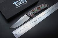 أعلى جودة سكين للطي التكتيكية TWOJ 3501 ، شفرة: S35VN ، مقبض: TC4 الطائرة تحمل التخييم في الهواء الطلق للطي السكاكين أدوات EDC
