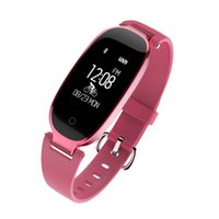 Lady Fashion S3 Pulsera Inteligente Bluetooth Cámara de Control Remoto y Música Smart Band Rastreador de Ritmo Cardíaco Sleep Monitor
