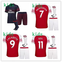 ArsENal soccer jersey kids kit 2018 19 arsenal boys kit + so...