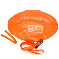 100 ٪ العلامة التجارية الجديدة السباحة العوامة الرياضة السلامة بالضيق نفخ جهاز تعويم وسادة هوائية مزدوجة للمياه المفتوحة
