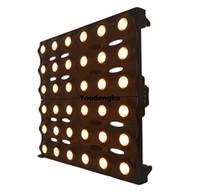 nuevos productos de iluminación de fondo dorado 36x3w Amber Led haz de luz blindaje 6x6 llevó la luz de matriz de oro