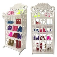 NK One Set 2018 Newest Doll Shoes Rack Playhouse Accessories...