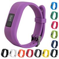 Neue weiche Silikon-Replacement-Armbanduhr-Band-Bügel für Garmin Vivofit3 Vivofit 3 und Garmin JR Kids Smart Watch Bands