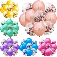 15pcs 12inch Balloons Mix Color Balloon Birthday Party Decor...