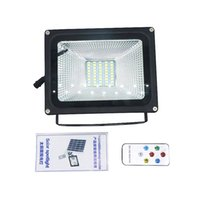 Edison2011 SMD 5730 Solar Spotlight with Remote Controller F...