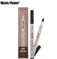 DORP In stock Music Flower Liquid Eyebrow Pen Makeup Enhance...