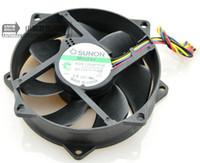 Pour ventilateur SUNON UC standard de 9 cm pour ventilateur 9025 à suspension magnétique avec régulation de température à 4 aiguilles KDE1209PTVX