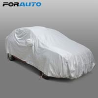 Car Cover Sun Shade Sedan Funda resistente a los arañazos para el auto Diseño de autos Cubiertas Acoplamiento Protección contra los rayos UV Snow Shield