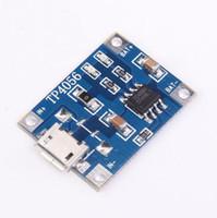 20 unids / lote TP4056 5 V 1A Micro USB Cargador Módulo 18650 Batería de Litio Junta de Carga Envío Gratis de Alta Calidad
