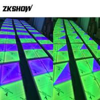80% Rabatt LED beleuchtete Hochzeit Tanzfläche Verkäufe 648 * 5MM 100CM DMX DJ Disco-Partei-Stadium Beleuchtungskörper-Projektor-freies Verschiffen