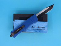 Allvin Manufacture A161 Dark Blue Handle Tactial Knife 440C ...