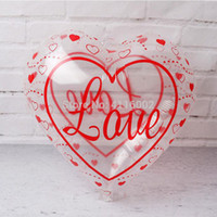 1000pcs 18inch Clear Transparent Balloons Star Heart Love He...