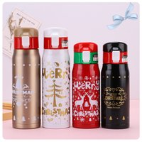 Christmas Gift Creative Student Xmas Water Bottles High Capa...