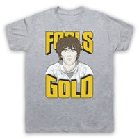 FOOLS GOLD THE STONE ROSES MADCHESTER ROCK UNOFFICIAL T- SHIR...