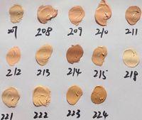 2018 D Concealer macol Foundation Make Up Cover 14 colori Primer Concealer con box Base Professional Viso Makeup Contour Palette DHL