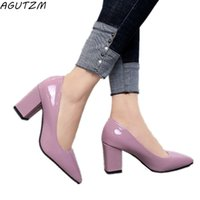 Women' s High Heels Pumps Sexy Bride Party Thick Heel Po...