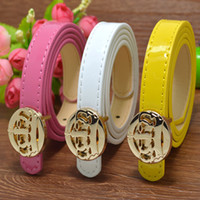 Classic Fashion Crown Kids Faux Leather Belts Brand Designer...