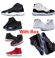 Wholesale Low Cool Grey 11s Bred UNC Varsity Space Jam 11 Co...