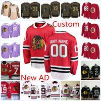 e6da992da Mens 2018 New AD Custom Chicago Blackhawks hockey Jersey Stan Mikita Bobby  Hull Denis Savard Steve Larmer Chicago Blackhawks Jersey