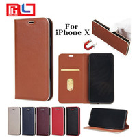 Leather Case For iPhone 8 Case Luxury Wallet Detachable Card...