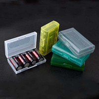 High quality 18650 Battery Box Transparent Plastic Protectiv...