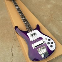 Grote, bass guitar 4003 purple 4 string electric bass guitar...
