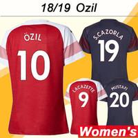 ca259f72ec7ab 2018 19 OZIL Camisetas de fútbol para mujer RAMSEY LACAZETTE KOSCIELNY  Camisetas de fútbol ausentes para