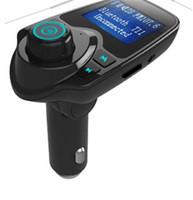 T11 Bluetooth Car Kit Freisprecheinrichtung FM Transmitter MP3-Player Doppel-USB-Auto-Ladegerät Unterstützungs-TF-Karte U Disk-Player VS T10