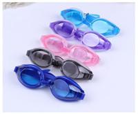 46477217fb Swimming Goggles Glasses Anti Fog For Kids Boys Girls Swim Glasses Children Goggles  Water Sports baby Swim Eyeglasses Free Earplugs