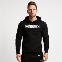 Wholesale- 2017 New VANQUISH Letter Printing Muscle Brothers...
